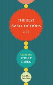 The Best Small Fictions 2016 book cover
