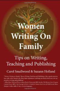 women writing on family