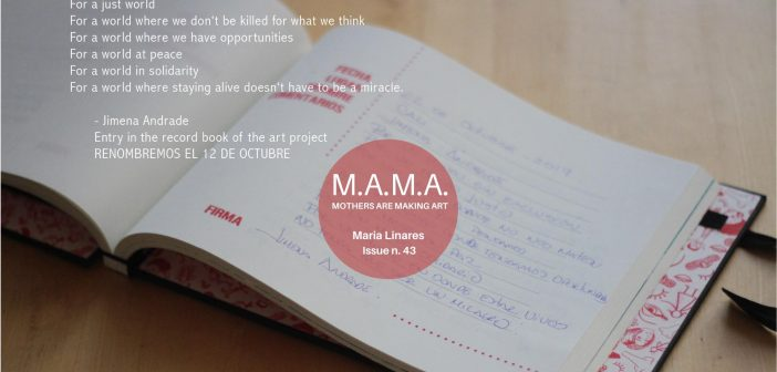 M.A.M.A. Issue 43 – Margie Shaheed and María Linares
