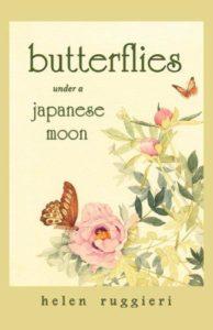butterflies under a japanese moon